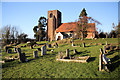 TL9919 : St Andrew's Church, Abberton by Bob Jones