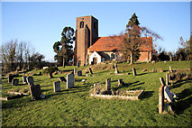 TL9919 : St Andrew's Church, Abberton by Bob Jones