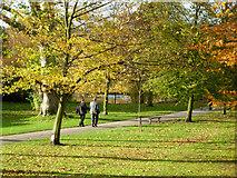 TQ2882 : Path to the Long Bridge, Regent's Park by Stephen McKay