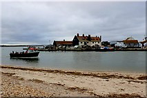 SZ1891 : Mudeford Ferry, Christchurch, Dorset by Nigel Mykura