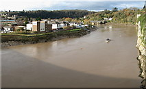 ST5394 : Lower Chepstow and the river Wye by Roy Parkhouse