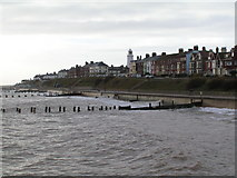 TM5176 : Southwold from the pier. by N Chadwick