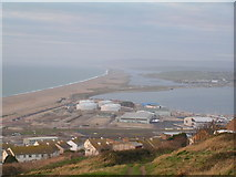 SY6774 : Oil Storage depot, Chesil Beach by N Chadwick