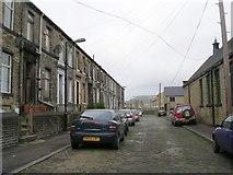 SE0824 : West Grove Terrace - Hopwood Lane by Betty Longbottom