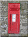 NY9575 : Victorian postbox, Colwell by Mike Quinn