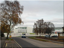TL8364 : The first cladding on the new Asda store by John Goldsmith