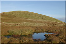 NS2659 : Small pool below Little Irish Law by Leslie Barrie