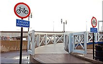 J3474 : The Lagan footbridge, Belfast (2) by Albert Bridge