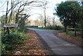 TQ5937 : Drivers heed the sign. by N Chadwick