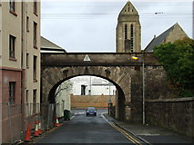 NS3174 : Jean Street railway bridge by Thomas Nugent