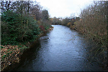 SK3536 : The River Derwent by David Lally