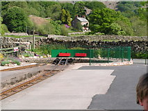 NY1700 : The turning circle, Dalegarth Station by N Chadwick