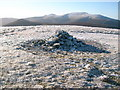 NY2932 : The summit cairn of Knott by Stephen Middlemiss