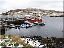HU4063 : Voe harbour by Stuart Wilding