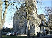 NJ9205 : Queen's Cross church by Stanley Howe