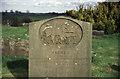 SO9564 : An unfortunate death, Hanbury Church by Chris Allen