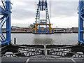 NZ5021 : Middlesbrough Transporter Bridge by Oliver Dixon