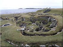 HU3909 : Jarlshof prehistoric site by Stuart Wilding
