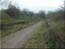 ST9102 : Old railway station, Spetisbury by Mike Faherty