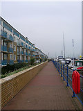 TQ3303 : The Boardwalk, Brighton Marina by Simon Carey
