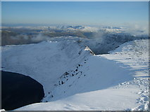 NY3415 : From Helvellyn by Michael Graham