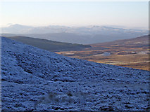 NO0255 : Frosty Moorland by Dorothy Carse