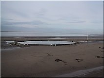 ST3049 : Man-Made Tidal Pool on the Beach by Sarah Charlesworth