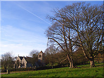 SU8695 : Hughenden Park and church by Andrew Smith
