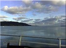 SH5873 : View from Garth Pier by mick finn