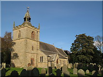 NY9371 : St Giles Church, Chollerton (2) by Mike Quinn