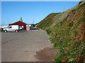 NX9807 : Nethertown Coastal Car Park by Tony Peacock