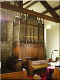 SD7656 : St Bartholomew Church, Tosside, Organ by Alexander P Kapp