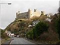 SH5731 : Harlech Castle by John Lucas
