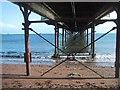 SX8960 : Under Paignton Pier by Sarah Charlesworth