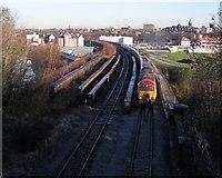 SJ3965 : Railway Bridge over the River Dee 2008 by John S Turner