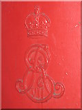 TQ3282 : Edward VII postbox, Goswell Road / Old Street, EC1 - royal cipher by Mike Quinn