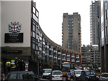 TQ3282 : Crescent House, Golden Lane  Estate, Goswell Road, EC1 by Mike Quinn
