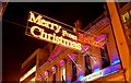 J3374 : Christmas lights, Belfast (2008) by Albert Bridge