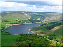 SE0103 : Dove Stone Reservoir by John H Darch