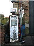 TG2834 : A vintage petrol pump by Evelyn Simak