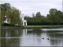 SU8083 : River Thames at Medmenham by Simon Mortimer