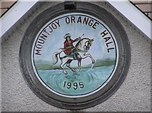 H4277 : Plaque, Mountjoy Orange Hall by Kenneth  Allen