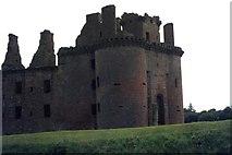 NY0265 : Caerlaverock Castle by M J Richardson