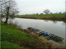 SO8345 : The River Severn at The Rhydd 2 by Jonathan Billinger