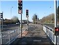 SU6252 : Pedestrian & cycle crossing by Sandy B