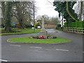 TL6452 : Carlton war memorial by Hugh Venables