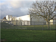 TQ4667 : North Orpington Water Treatment Works by Ian Capper