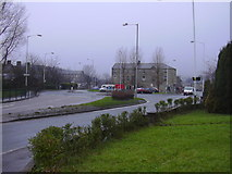 SD8122 : Junction of Bacup Road and Bocholt Way by Robert Wade