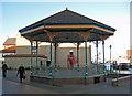 TA2709 : Bandstand, Alexandra Dock, Grimsby by David Wright