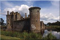 NY0265 : Caerlaverock Castle by Tom Richardson